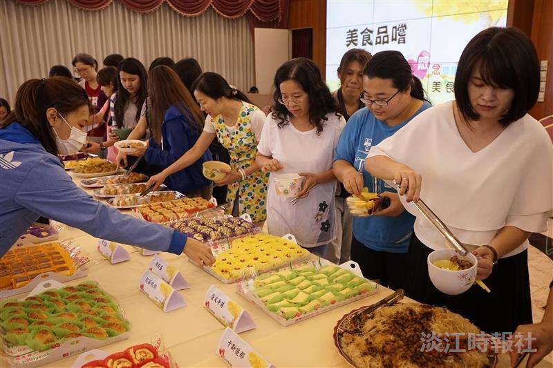 【即時】女聯逾兩百人來相會 感念師恩饗美食
