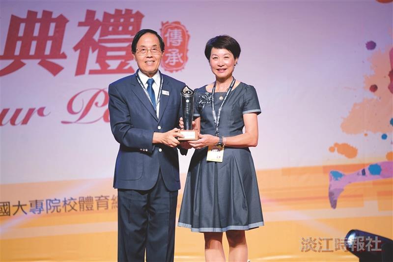 蕭淑芬獲體育活動貢獻獎