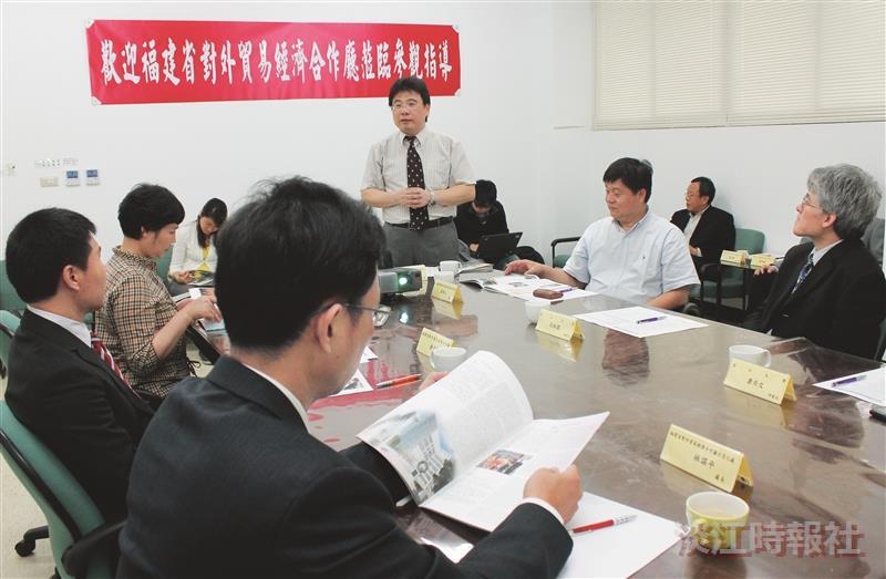 福建對外貿易經濟合作廳參訪本校