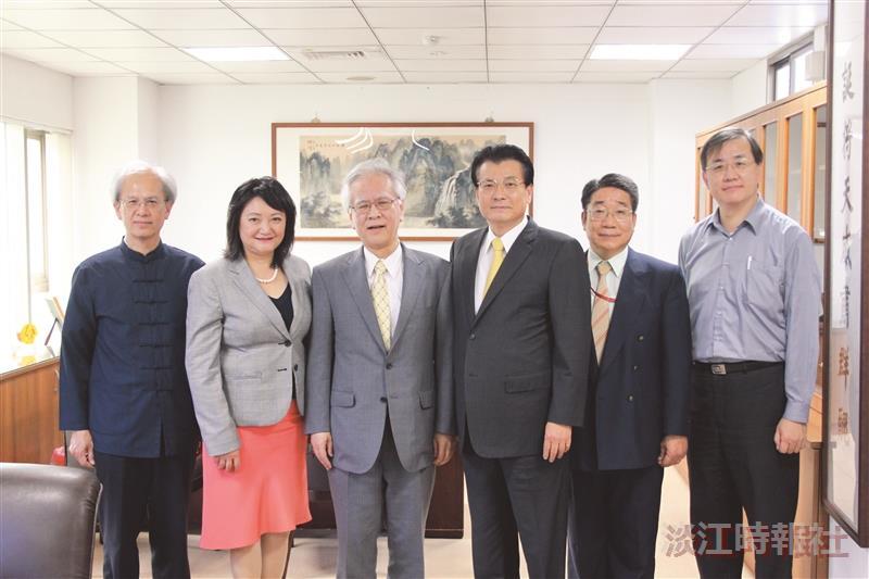 長崎大學校長蒞校演講參訪