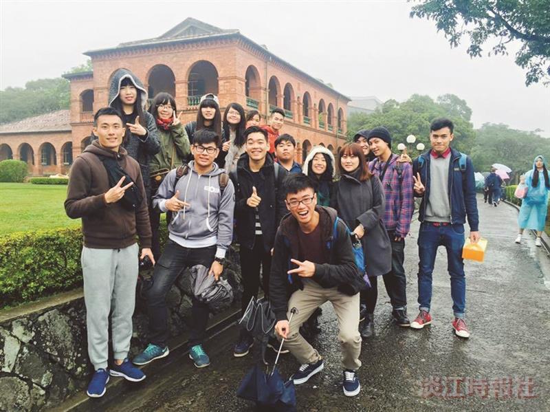 華語160生走訪淡水 體驗臺灣之美