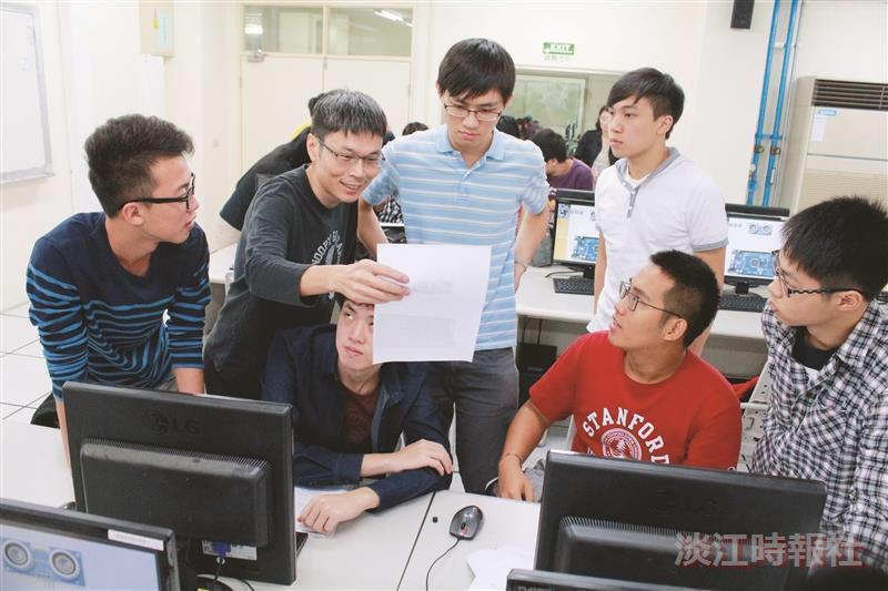 榮譽生PBL課程 陳瑞發示範