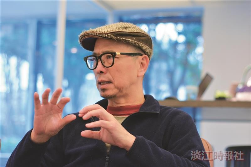 入圍2016台灣文學獎圖書類長篇小說金典獎 阮慶岳建築師跨界文學創作