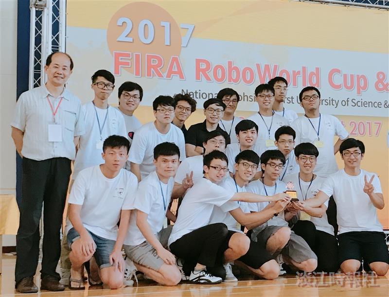 2017FIRA國際機器人大賽本校參賽團隊-1
