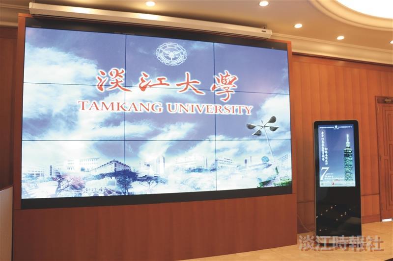 覺生會議廳 電視牆升級