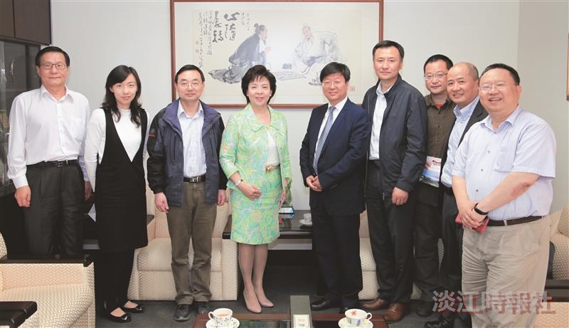 滁州學院來訪力邀兩岸物聯網研討