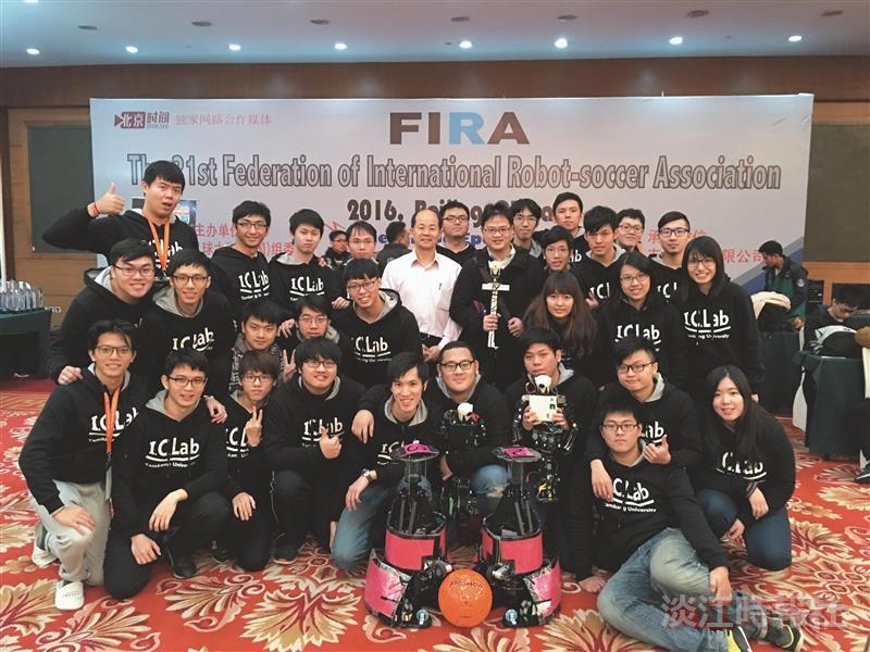 機器人FIRA世足賽獲4金1銀3銅