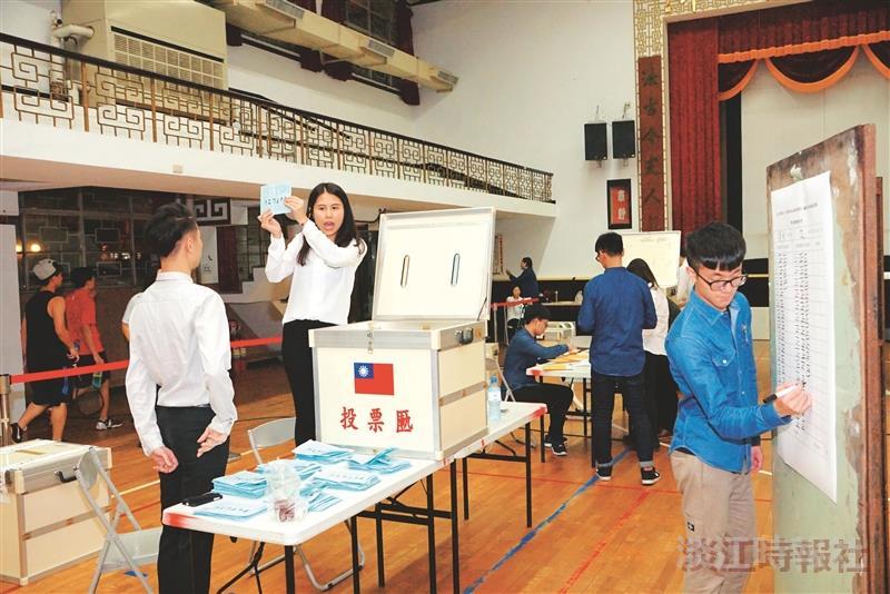 陳信宇當選學生會會長 學生議會產生28議員