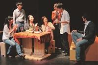 實驗劇團上週期初公演,圖為「重逢」劇碼。(攝影/張峻銓)