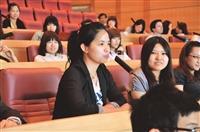 與校長有約 大四學生座談會 互動熱絡
