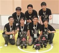 本校電機系機器人團隊佳績連連,第一次參加技術挑戰賽,即獲得佳績。(圖/電機系提供)