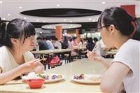 美食廣場改裝 學生大呼 不一樣