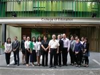 上海教科研院訪教育學院