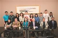 駐華大使達比亞來校 介紹尼加拉瓜面貌