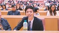 張校長與蘭陽大四生座談