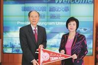 韓慶南大學校長來訪 肯定本校理工成就