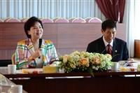 淡江大學與金'門大學學術交流與合作協議書簽約典禮
