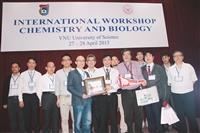 理工8師赴越南研討化學生物