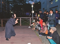 微光詩社詩劇場實踐詩行動