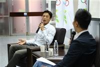 「台灣網球一哥」盧彥勳演講「堅持信念、迎接挑戰」