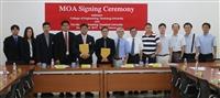 泰國農業大學與本校機械系簽署「機械雙聯學位」