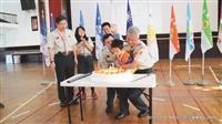 跨校200童軍賀淡江童軍團慶