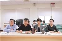 滁州學院來校觀摩商管課