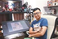 數學系校友 臺灣新銳漫畫家 高商議(辛卡米克) 享受自由學風 跨界實踐夢想