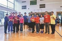第一屆院際盃排球賽開打 張校長力挺排球賽