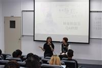 生命教育校園電影公播【那個靜默的陽光午後】邀請製片李孟津於映後座談