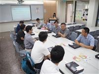 廣東江門代表團來校交流教育設備