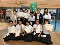 弓道社碧羽祭獲獎