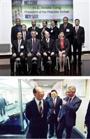 吉里巴斯總統讚淡江學風好設備佳