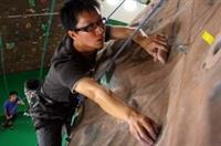 攀岩可以強身健體,並培養迎接挑戰的勇氣。