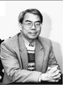 台灣綜合研究院副院長吳再益自民國62年考進淡江統計系至今,從學生的角色轉換為老師,提攜後進不遺餘力。(洪翎凱攝影)