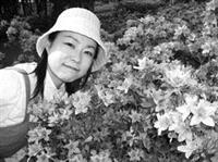 穴澤雅子覺得,淡江人、事、物都好有感情,可以在這裡念書好幸福。(圖�穴澤雅子提供)