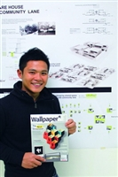 """TKU Architecture alumnus Guo-yu Hu's graduation design """"Made in Script"""" was published by the world most famous Wallpaper as an outstanding work."""