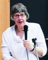 英文系邀請國際知名莎士比亞學者Dr. M. Novy蒞校演講,分享其研究成果。(攝影�陳怡菁)