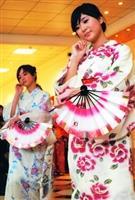 日本舞舞者舉手投足,韻味十足。(攝影�劉瀚之)