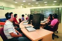 蘭陽校園圖書館視聽室,等你來使用。