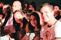 外籍生和交換生在歡送會中,心中充滿畢業的喜悅和對淡江不捨的矛盾心情,希望能用微笑為彼此這4年的生活,留下最美好的回憶。(攝影�鄭雅文)