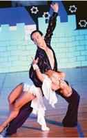 國標社精湛純熟的舞技,獲得滿堂彩。(圖�陳振堂攝)