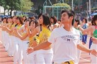體適能有氧舞蹈融合神秘中東肚皮舞、熱情拉丁及韻律有氧,為大會增添風釆。