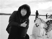 黃啟賢遊遍歐洲,還到北極圈乘坐雪橇。