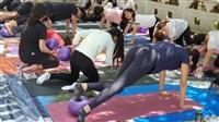 體育處講師郭馥滋選修課「運動休閒與競技實務─彼拉提斯」