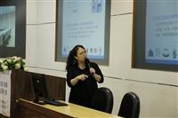 教師教發中心舉辦「創新教學-課程設計」研習活動邀請教科系副教授王怡萱以「資訊科技融入教學之應用與經驗分享」為分享