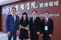 淡江與微軟策略聯盟簽約暨AI體驗中心揭幕