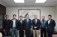 水環系熊貓講座邀請到新加坡國立大學副校長(研究與科技)劉立方 拜會葛校長、張董事長