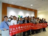 機械系於3月19日至達明機器人公司參訪