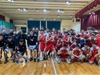 淡江男籃校隊12/2與國北護友誼賽